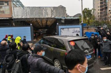 Expertos de la OMS visitan mercado de Wuhan donde hubo primer brote de coronavirus