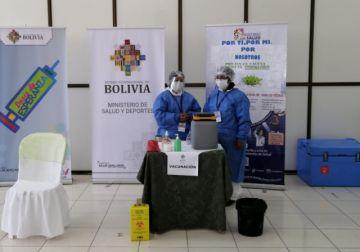 Inicia la vacunación contra el coronavirus al personal de salud en Potosí