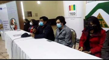 Presentan el foro electoral para candidatos a la Gobernación y Alcaldía de Potosí