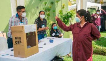 Estas son las medidas de bioseguridad para el día de las elecciones en marzo