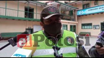 Tránsito busca diálogo con sector movilizado en ruta Potosí Sucre