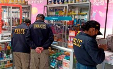 FELCC realizó más de 200 operativos con 8 arrestos contra la especulación en fármacos