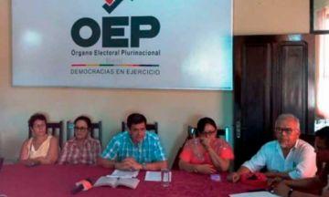 Exvocales electorales de tres departamentos ya fueron eximidos de culpa en caso fraude