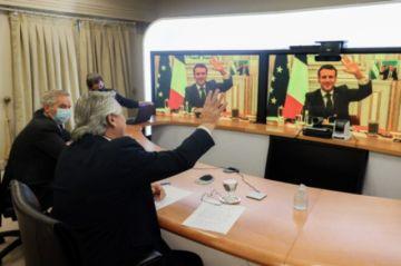 Argentina agradece a Francia apoyos al arreglo de deudas