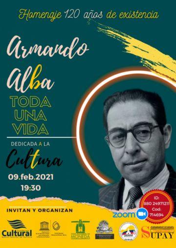Habrá un homenaje virtual al potosino  Armando Alba