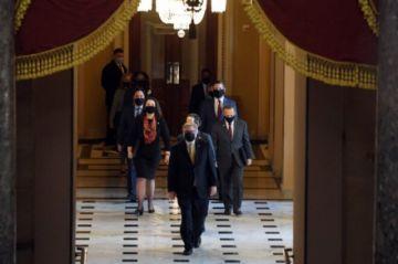 Los demócratas presentan su caso contra Trump por el asalto al Capitolio