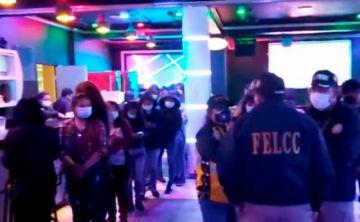 Operativos contra fiestas en 'Comadres' resultaron en varios arrestos en La Paz y El Alto