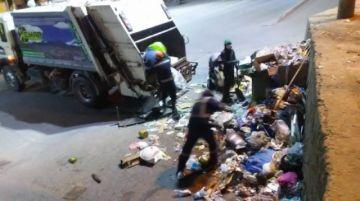 Emap trabaja con brigadas de limpieza en feriado