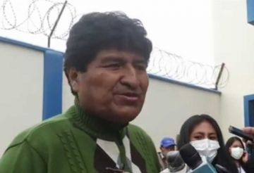 Evo Morales dice que 'tarde o temprano' habrá sanción a empresas encuestadoras