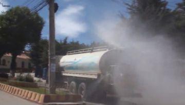 La Alcaldía de Potosí continuará con las desinfecciones