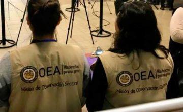 Misiones de la OEA y UNIORE llegarán a Bolivia para observar las elecciones subnacionales