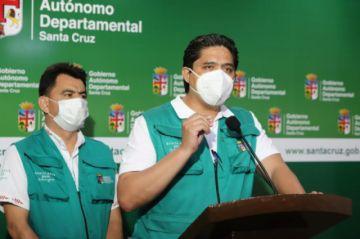 Santa Cruz reporta 446 nuevos contagios y 23 fallecidos por coronavirus