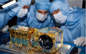 Camila Velasco trabaja ahora en la creación de un vehículo que se pose en una de las lunas de Marte