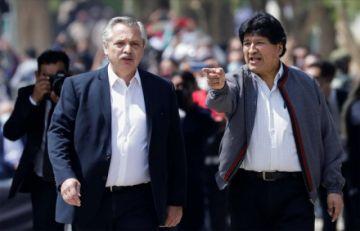 """Tres diputados del MAS postulan a Alberto Fernández a Nobel de la Paz por """"salvar la vida de Evo Morales"""""""