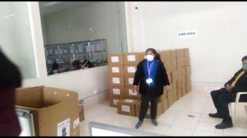 Potosí ya tiene papeletas para las elecciones subnacionales