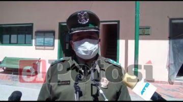 Hay 19 policías con coronavirus que reciben atención en Potosí
