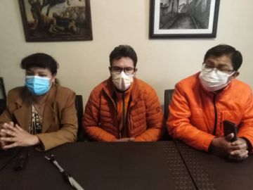 Rafael Montoya renuncia a su candidatura para cerrarle el paso al MAS en Potosí