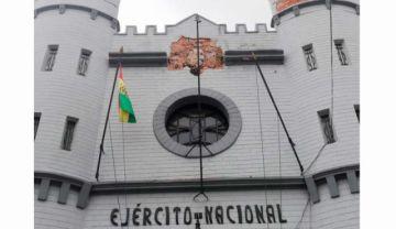 ¿Qué pasó con el escudo de Bolivia del cuartel de Sucre?