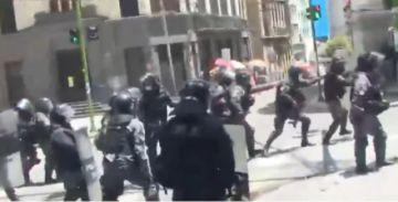 Expostulante a la normal de Potosí fue aprehendido tras los enfrentamientos en La Paz