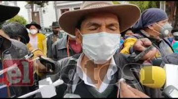 "Comunarios de Samasa Baja acusan a candidato Llally de impulsar un ""movimiento sin techo"""