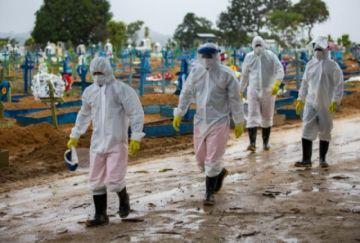 Estados brasileños reimponen restricciones ante repunte del covid-19