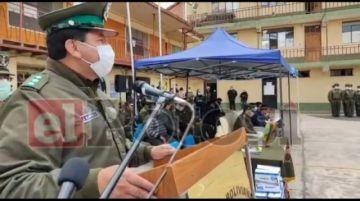 Policía y UATF firman convenio para la capacitación en turismo