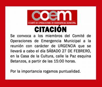 COEM se reúne hoy para definir restricciones en el municipio de Potosí