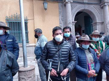 Comunidad de Cantumarca se declara en emergencia por su planimetría
