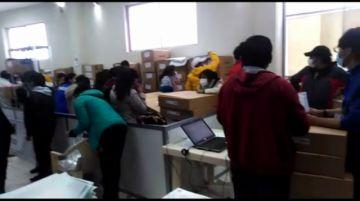 Comenzó el armado de maletas electorales en el TED Potosí