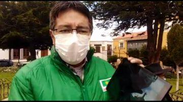 Gonzalo Barrientos anuncia que si gana las elecciones comprará tablets para estudiantes