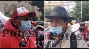 Oferta de lotes desata polémica entre candidato Llally y comunarios