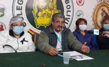 El Colegio Médico de Bolivia celebra rechazo a la Acción Popular por el paro médico