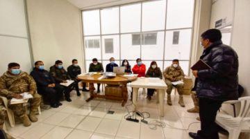 El TED Potosí coordina la aplicación de la cadena de custodia del material electoral