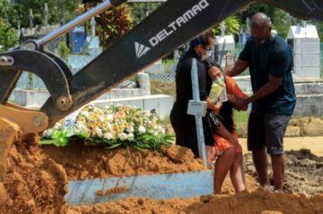 Brasil  enfrenta la fase más mortífera de la covid-19