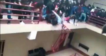 Juez envía a la cárcel a 7 dirigentes universitarios por la tragedia en la UPEA