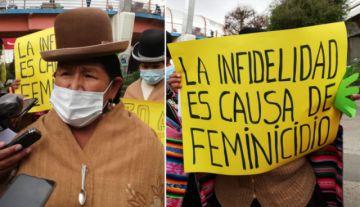 Organización femenina de El Alto sugiere que la infidelidad sea tipificada como delito penal