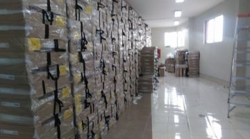 Distribución de maletas cierra etapa de organización de las elecciones