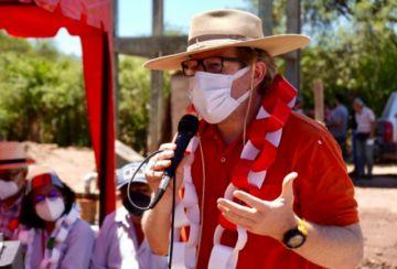 El gobernador de Tarija Adrián Oliva da positivo a coronavirus y es internado en un hospital