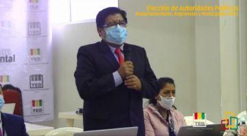 El TED Potosí llama al ciudadano a acudir a las urnas en la inauguración de la jornada electoral