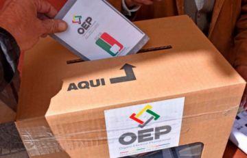 Más de siete millones de ciudadanos de Bolivia vuelven a las urnas para elegir 337 alcaldes y nueve gobernadores
