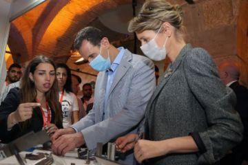 El presidente sirio Asad y su esposa Asma, positivos por coronavirus