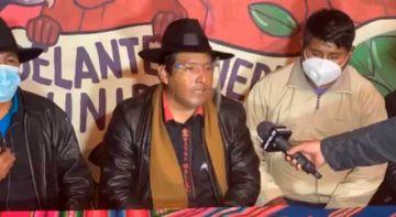 'Hay olor a fraude', dice Santos Quispe sobre la carrera para la gobernación