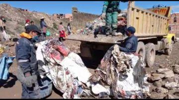 Vecinos de la junta 27 de diciembre y EMAP realizan acción comunal