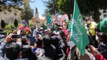 Denuncian supuesto fraude en municipios en favor al MAS