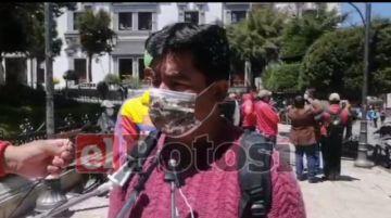 Candidato de los Ayllus en Cotagaita denuncia supuesto fraude