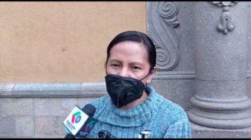 Vecina denuncia problemas de planos entre Huachacalla y Cantumarca