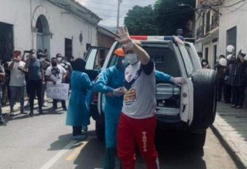 El gobernador tarijeño Adrián Oliva es dado de alta tras vencer a la covid 19