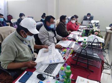 Concluyó cómputo electoral de 30 de los 41 municipios de Potosí