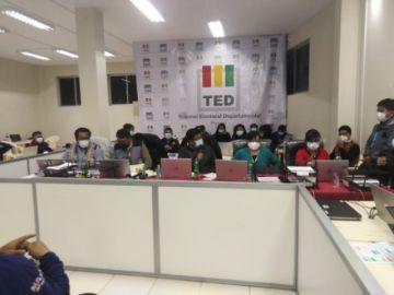Cómputo electoral en Potosí no concluye por anulación de tres mesas