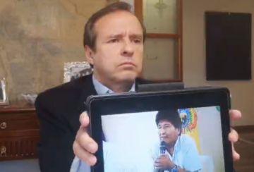 """Jorge Quiroga le dice Evo Morales: """"Tú y yo sabemos lo que pasó; exigías se autorice tu fuga y la sucesión"""""""